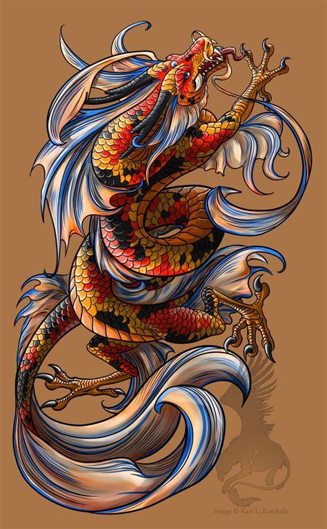 koi dragon tattoo designs koi by yamigriffin deviantart on