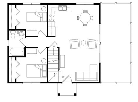 open concept floor plans for small homes small open