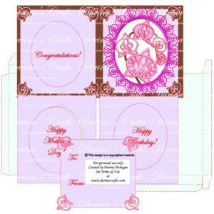 place card templates free orchid orchid card template bundle with orchid frame massages