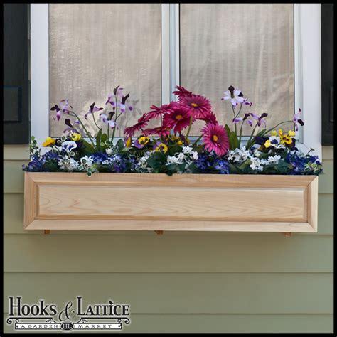 wooden window flower boxes cedar window boxes raised panel cedar window box wood