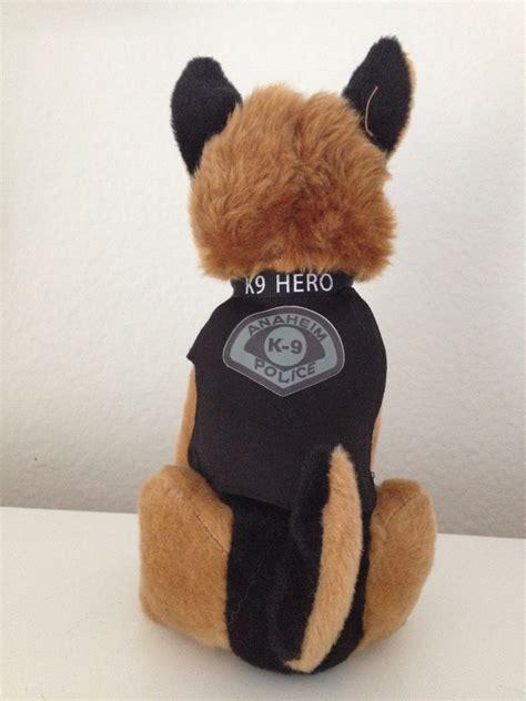 bruno stuffed friends of anaheim k9 association