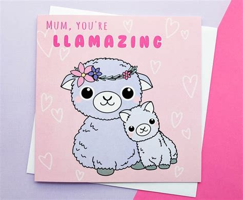 cute mothers day cards handmade mother s day card cute giraffes kio cards