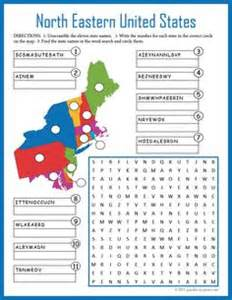 us map puzzle worksheet united states map on states and capitals 50