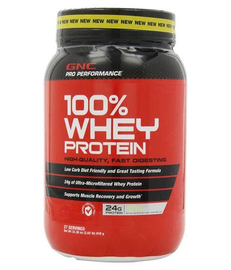 Whey Gnc gnc pro performance 100 percent whey protein vanilla