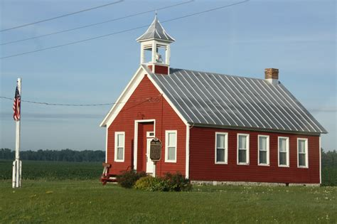 School House by File Lena Road Schoolhouse June 2012 Jpg