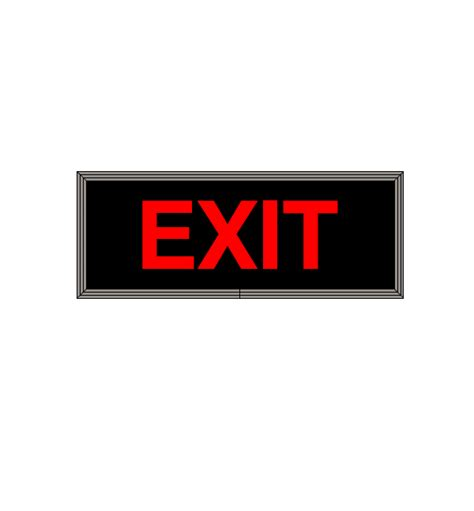 Led Exit Sign led backlit exit sign led exit sign