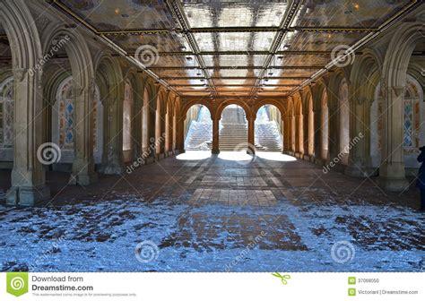 pedestrian underpass  bethesda terrace  york