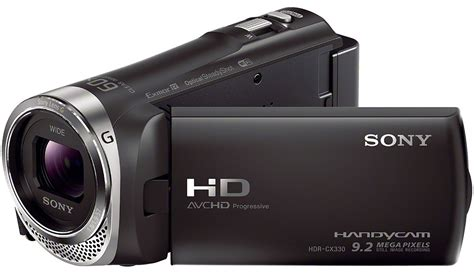 Sony Hdr sony hdr cx330 b high definition camcorder black
