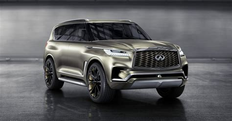 infiniti car qx80 infiniti qx80 monograph concept photos and more the manual