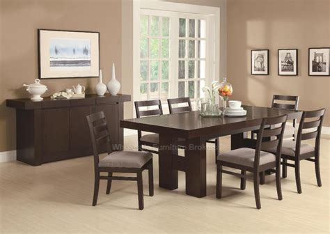 modern dining sets toronto double pedestal dining set at gowfb ca true