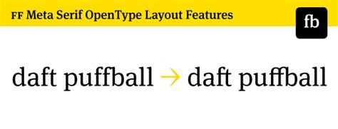opentype layout features facts and figures technical specification of ff meta