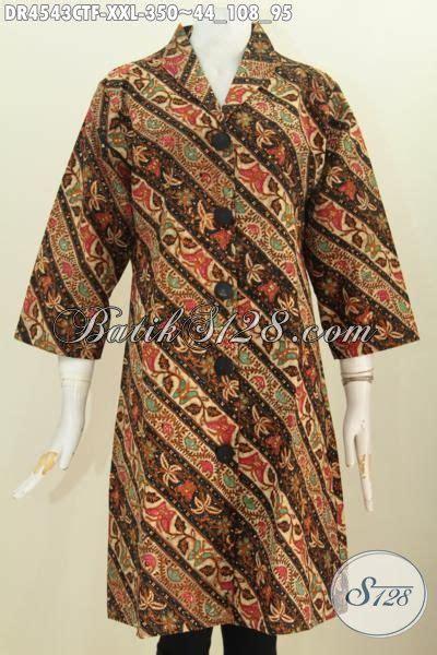 Dress Batik Cap Bantulan Kombinasi Ukuran M Berlapis Trikot dress batik parang bunga model kerah langsung busana batik jawa etnik kwalitas premium berbahan