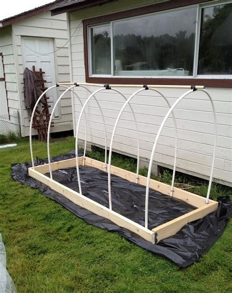raised garden bed covers learn how to make a raised garden bed cover home design
