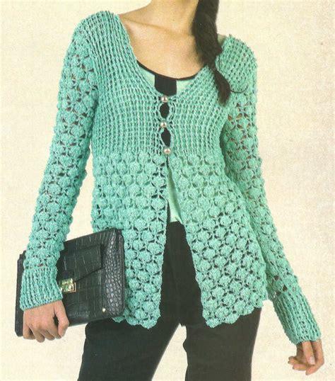 artesanales en crochet saco tejido en crochet con un bonito detalle tejidos artesanales a crochet saco corte princesa