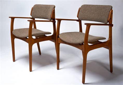 teak upholstered dining room chairs set of ten upholstered teak dining chairs by erik buch at