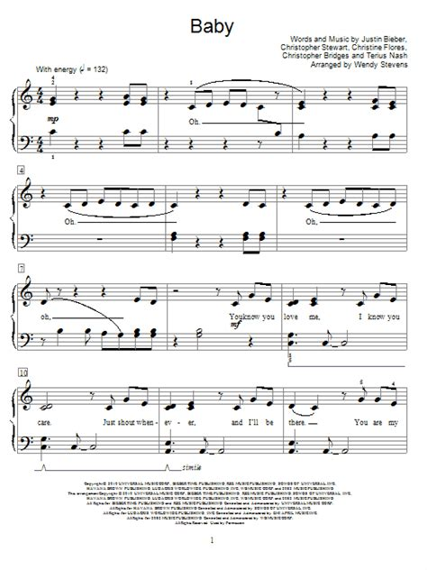 baby shark note piano baby justin bieber lyrics chords piano