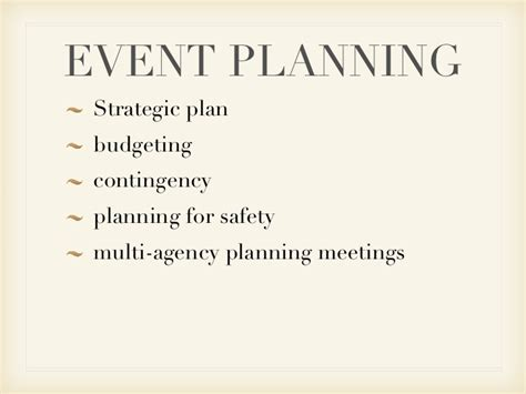 Electrical Plan by Event Planning Powerpoint