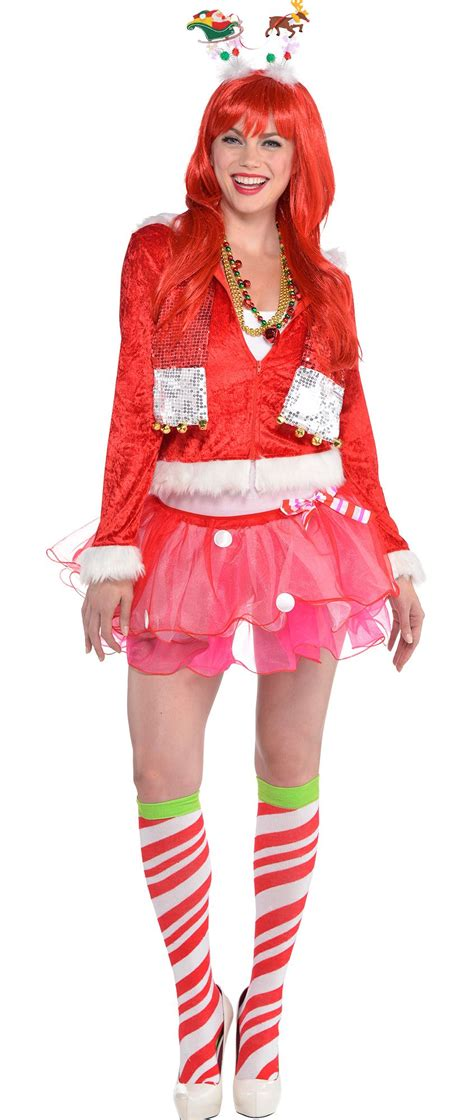 women s santa christmas costume accessories party city
