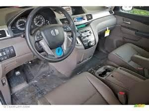 Honda Truffle Interior Truffle Interior 2012 Honda Odyssey Touring Elite Photo
