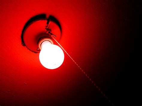 red light bulbs creating a darkroom katiewilliams blog as media