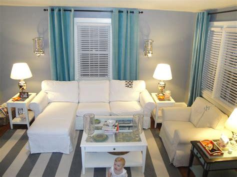 aqua living room grey and aqua pennywisepanache