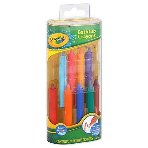 bathtub crayons crayola 174 9 pack bathtub crayons buybuy baby