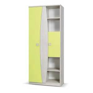 wardrobe with shelves tenus children s 2 door wardrobe with shelves