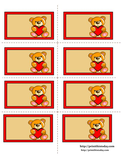 printable label stickers free printable teddy bear labels