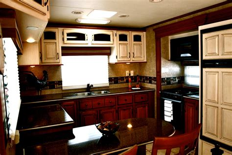 kz kitchen cabinet stone 2012 kzrv 36rk stoneridge fifth wheel veurink s rv center