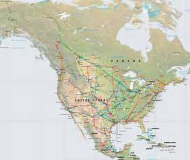 america pipelines map crude petroleum