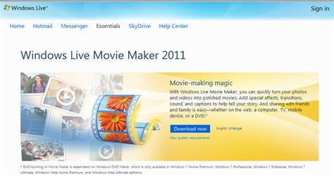tutorial windows live movie maker 2011 image gallery movie maker 2011