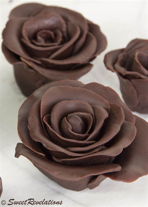 dark chocolate roses sweetrevelations