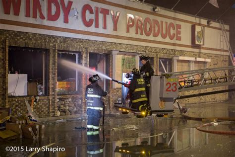 grocery store in chicago destroyed by