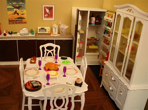 sindy doll house furniture vintage sindy doll house pieces some re painted everything barbie pinterest dining room