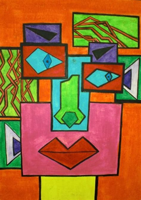 when did cubism begin cubism for start with rectangles each one has a