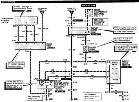 ford e 350 wiring diagram for blower motor wiring