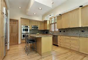 Light Maple Kitchen 53 High End Contemporary Kitchen Designs With Wood Cabinets Designing Idea