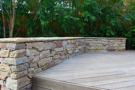 garden wall australia top 4 residential retaining wall types