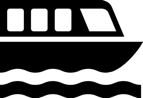 pontoon boat icon boat silhouette clipart clipart suggest