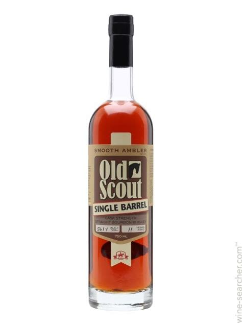 smooth ambler old scout bourbon smooth ambler old scout single barrel bourbon whiskey usa