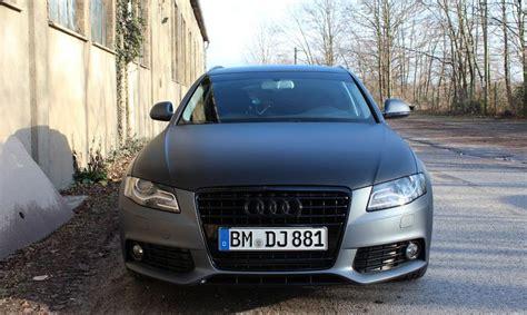 Audi Grau Matt by Audi A4 8k Grau Matt Metallik Folienking De