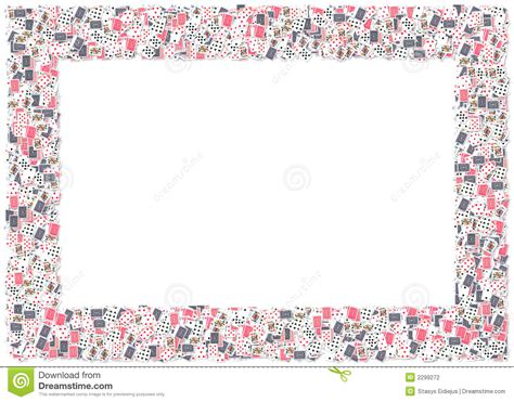 photo frame cards cards frame stock illustration image of