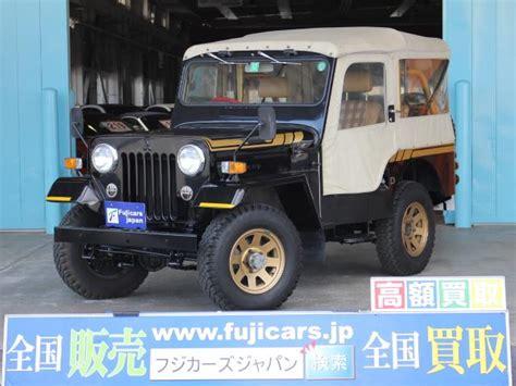 Jeep Kanvas Black mitsubishi jeep canvas top golden black version 1984 black 7 000 km details japanese