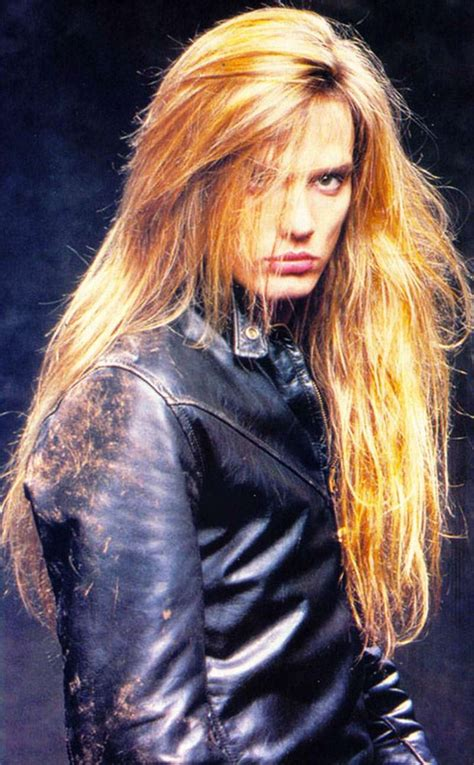 old rock hairstyles sebastian bach s wondrous metal mane