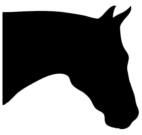 Plain Gift Wrap - horse silhouette