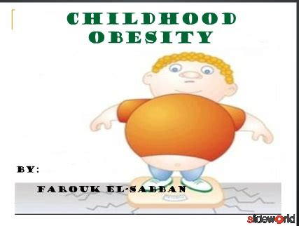 childhood obesity powerpoint templates childhood obesity powerpoint templates the highest
