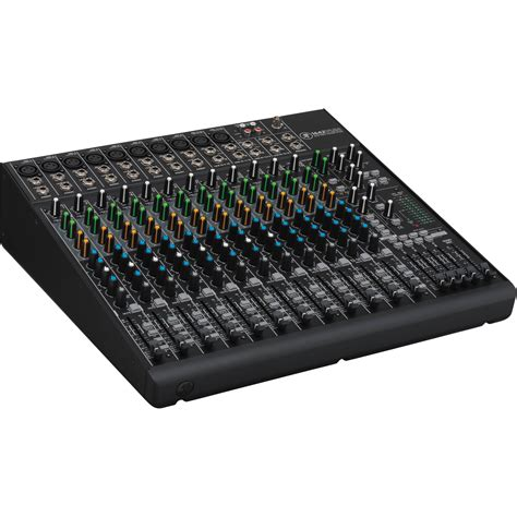 Mixer Audio 16 Channel mackie 1642vlz4 16 channel 4 compact mixer 1642 vlz4 b h