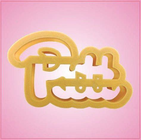 College Letter Cookie Cutters College Mascot Cookie Cutters Cheap Cookie Cutters