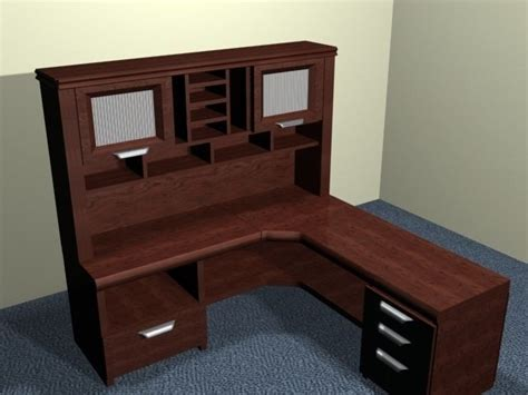 High Quality Desk by Five High Quality Desks 3d Model Ready 3ds