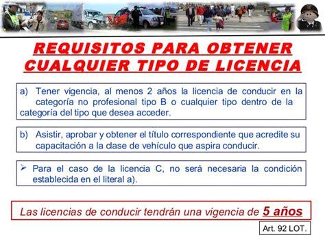 requisitos para la licencia de conducir en el df 2016 ley organica de reforma a la ley organica de transporte
